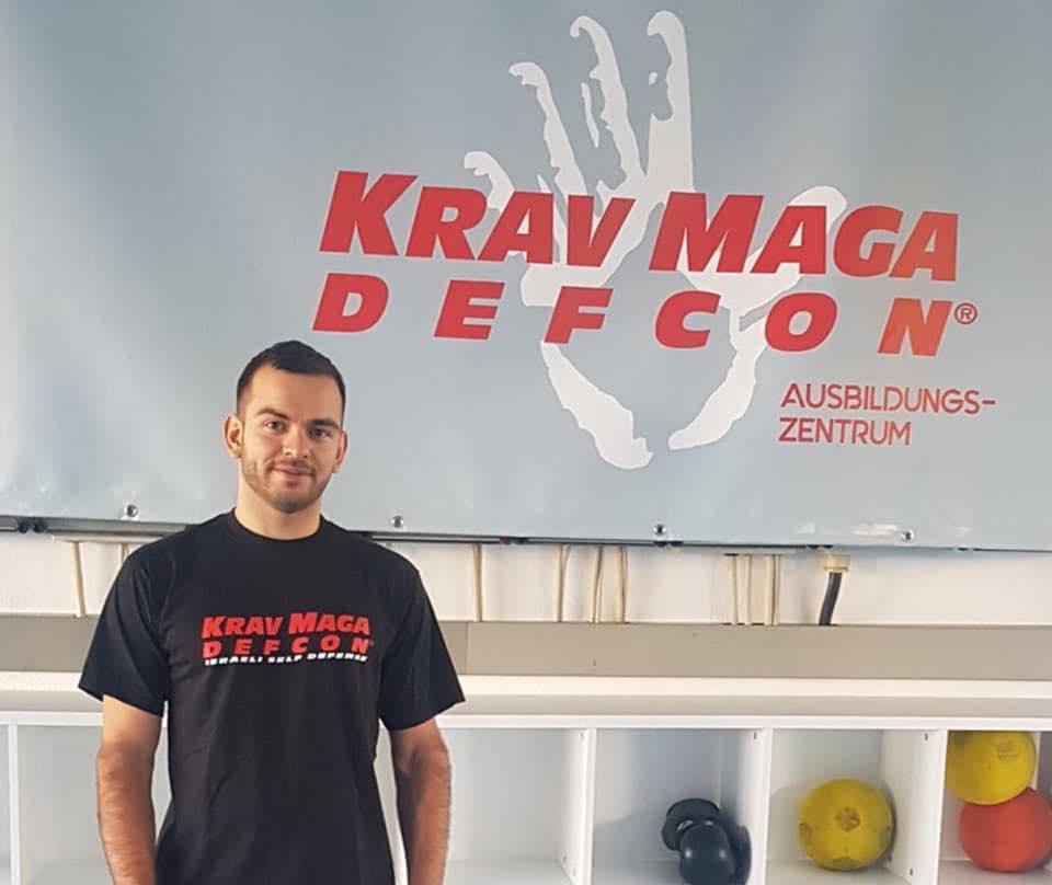 Trainer KravMaga-Defcon Patrick Neukamm